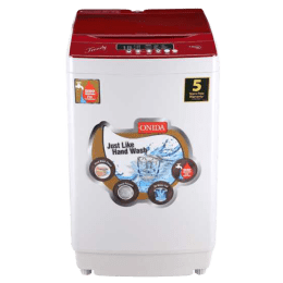 Onida 7.5 kg Fully Automatic Top Loading Washing Machine (T75TR, Light Grey)_1