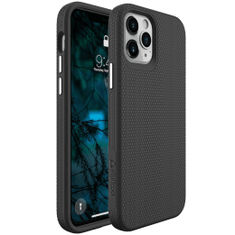 """Stuffcool Spike PC and TPU Back Case For iPhone 12 (Integrated Knobs Buttons, iPhone 12 6.1"""", Black)_1"""