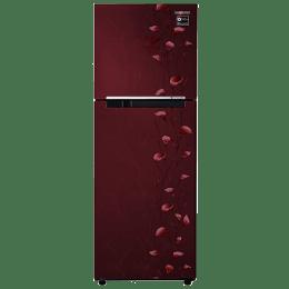 Samsung 253 L 2 Star Frost Free Double Door Inverter Refrigerator (RT28M3022RZ/HL, Red)_1