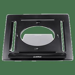 Stuffcool Riser Adjustable Portable Stand for Laptop and Tablet (Super Simple Interlocking Design, RSLTSTD-BLK, Black)_1