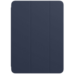 Apple Polyurethane Smart Folio Cover For iPad Air 10.9 Inch (Foldable, MH073ZM/A, Deep Navy)_1