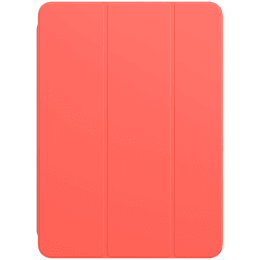 Apple Polyurethane Smart Folio Cover For iPad Air 10.9 Inch (Foldable, MH093ZM/A, Pink Citrus)_1