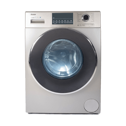 Haier 7 kg Fully Automatic Front Loading Washing Machine (HW70-IM12826TNZP, Gold)_1