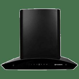 Faber Orient 1200 m³/hr 60cm Wall Mount Chimney (Auto Clean, TC BK 60, Black)_1