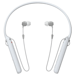Sony WI-C400 In-Ear Bluetooth Earphones with Neckband (White)_1