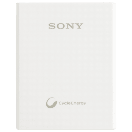Sony 3000 mAh Power Bank (CP-E3, White)_1