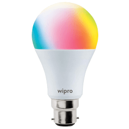 Wipro 9 Watts LED Smart Bulb (White Tunable and Dimmable, NS9001, Multicolor)_1
