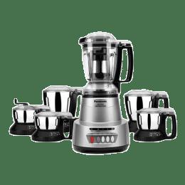 Panasonic 600 Watts 6 Jars Mixer Grinder (Child Lock, MX-AV625, Earthy Silver)_1