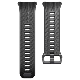 Fitbit Ionic Small Band (FB164ABGYBKS, Black and Grey)_1