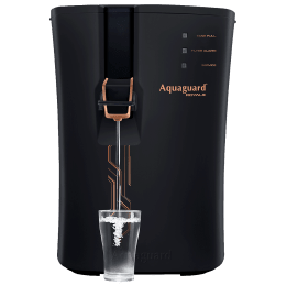 Eureka Forbes Aquaguard Royale RO+UV+MTDS Electrical Water Purifier (Active Copper Technology, Black)_1