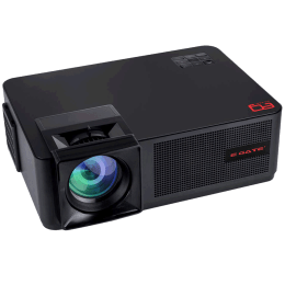 Egate Miracast Wirless LED Projector (P9 M, Black)_1