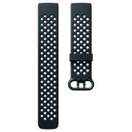 Fitbit Charge 3 Large Sport Band (FB168SBBKL, Black)_1