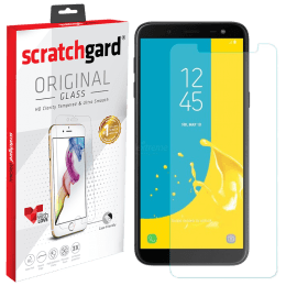 Scratchgard Tempered Glass Screen Protector for Samsung Galaxy J6 Plus (Clear)_1