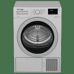 Voltas Beko 8 kg Front Loading Dryer (WDR80S, Silver)_1