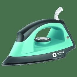 Orient Fabri Press 1000 Watt Steam Iron (DIFP10BP, Green/Black)_1