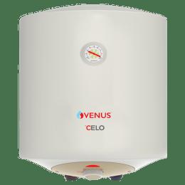 Venus Celo 15 Litres 5 Star Storage Water Geyser (2000 Watts, 015CV, Ivory)_1