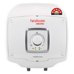 Hindware Atlantic Ondeo Evo 10 Litres 5 Star Rating Storage Water Heater (240 Watts, SWH 10A-2 M-2, White)_1