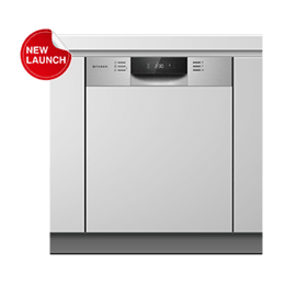 Faber 14 Place Setting Built-In Dishwasher (Dual Zone Wash, FSID 8PR 14S, Stainless Steel)_1