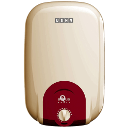 Usha 15 Litres 5 Star Storage Water Geyser (2000 Watts, Aqua Genie, Ivory Red)_1