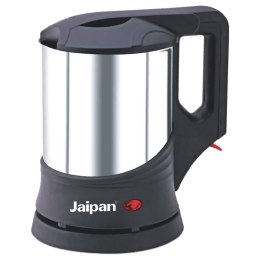 Jaipan 1 Litre 1350 Watts Electric Kettle (Detachable Base, Auto Switch Off, JPEK0059, Silver)_1