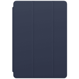 Apple Polyurethane Smart Cover For iPad 8th Generation 10.2 Inch (Foldable, MGYQ3ZM/A, Deep Navy)_1