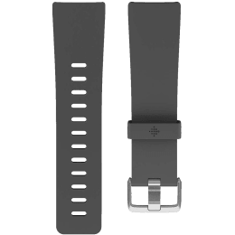 Fitbit Versa Buckle Closure Large Band (FB166ABCHL, Charcoal)_1