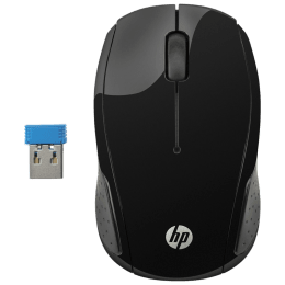 HP 200 Wireless Mouse (X6W31AA, Black)_1