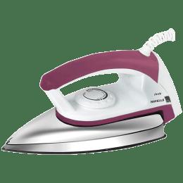 Havells Insta 750 Watts Dry Iron (Temperature Control Dial, GHGDIAXC075, Pink)_1