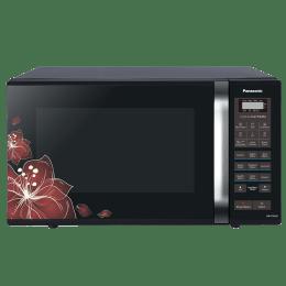 Panasonic 23 Litres Convection Microwave Oven (360° Heat Wrap, NN-CT35LBFDG, Black Floral)_1