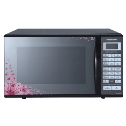 Panasonic 27 Litres Convection Microwave Oven (Floral Mirror Finish, NN-CT64LBFDG, Floral Mirror Finish)_1
