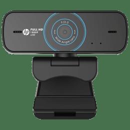 HP w300 Webcam For Desktop (1080p Resolution, 1W4W5AA, Black)_1