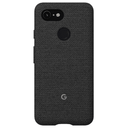 Google Pixel 3 Fabric Back Case Cover (GA00486, Fog)_1