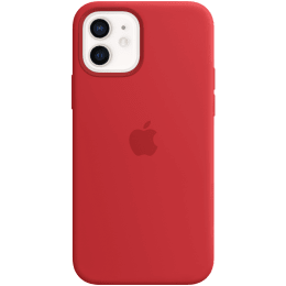 Apple Silicone Back Case For iPhone 12 Mini (Magsafe Charging Accessibility, MHKW3ZM/A, (Product)Red)_1