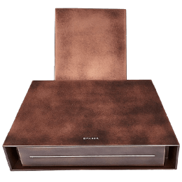 Faber 1000 m³/hr 75cm Wall Mount Chimney (Cassette Filter, Chloe Evo Plus Old, Copper)_1