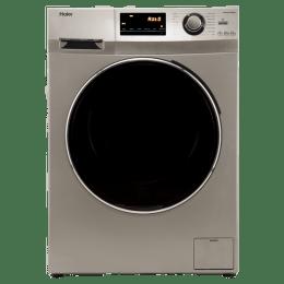 Haier 6.5 kg Fully Automatic Front Loading Washing Machine (HW65-B10636NZP, Grey)_1