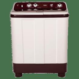 Haier 8 kg Semi Automatic Top Loading Washing Machine (HTW80-1128, Burgundy)_1