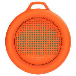 Xoopar Splash Portable Bluetooth Speaker (XP81008.20A, Orange)_1