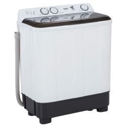 Haier 6.2 kg Semi Automatic Top Loading Washing Machine (HTW62-1187GYT, Grey)_1