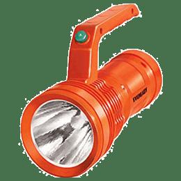Eveready 3 Watt Rechargeable Torch Light (DL96, Black)_1