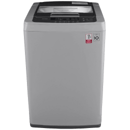 LG 6.5 kg Fully Automatic Top Loading Washing Machine (ASFPEIL, Silver)_1