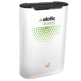 Elofic Gavi Ionic Purification Technology Air Purifier (Ozone Free, EAP-9902, White)_1