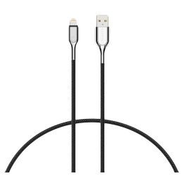 Cygnett 100 cm USB (Type-A) to Lightning Cable (CY2669PCCAL, Black)_1