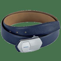 Leather Talks Smart Belt (LT/SR/002, Blue/Silver)_1