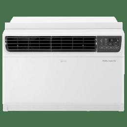 LG 1.5 Ton 3 Star Inverter Window AC (JW-Q18WUXA, Copper Condenser, White)_1