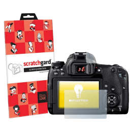 Scratchgard Screen Guard for Canon EOS 200D (Transparent)_1