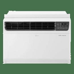 LG 2 Ton 3 Star Inverter Window AC (JW-Q24WUXA, Copper Condenser, White)_1