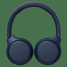 Sony Extra Bass Wireless Headphones (WH-XB700, Blue)_1