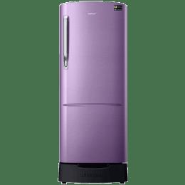Samsung 212 L 4 Star Direct Cool Single Door Inverter Refrigerator (RR22R383YRU/HL, Mauve)_1
