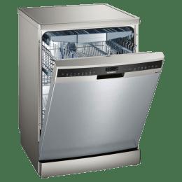 Siemens iQ500 14 Place Setting Freestanding Dishwasher (Zeolith Drying, SN258I06TE, Steel)_1