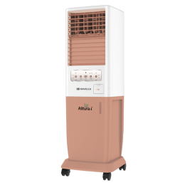 Havells 30 Litres Tower Air Cooler (Fully Collapsable Louvers, Alitura 30-i, White)_1